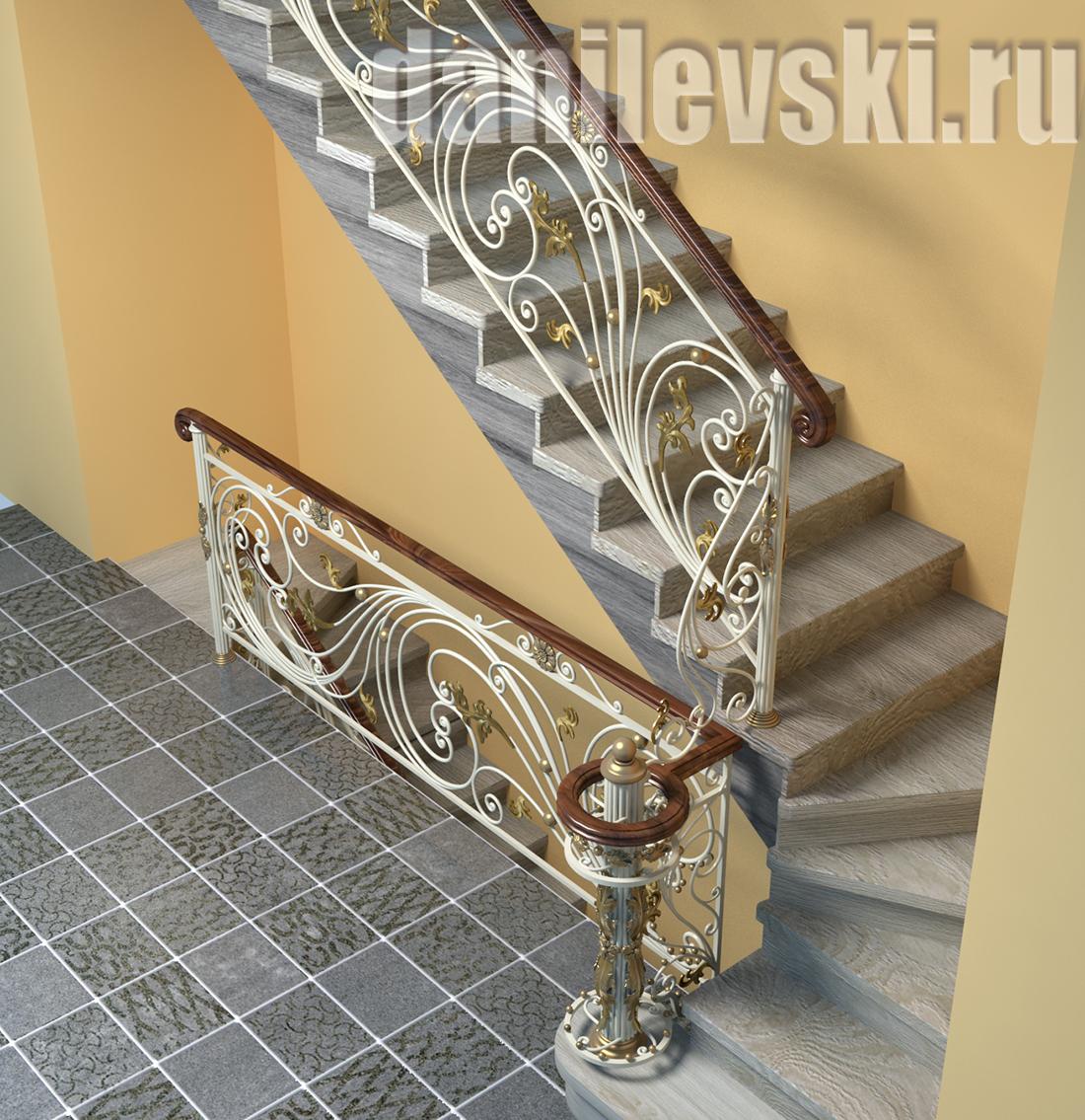 Кованая-лестница-11