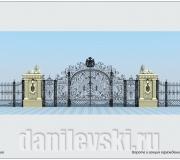 кованые ворота-3