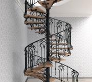 Эскиз кованой лестницы-3