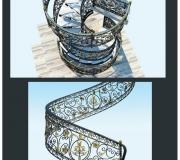 Эскиз лестницы-6