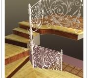 Визуализация кованой лестницы -2