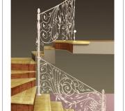Визуализация кованой лестницы -1
