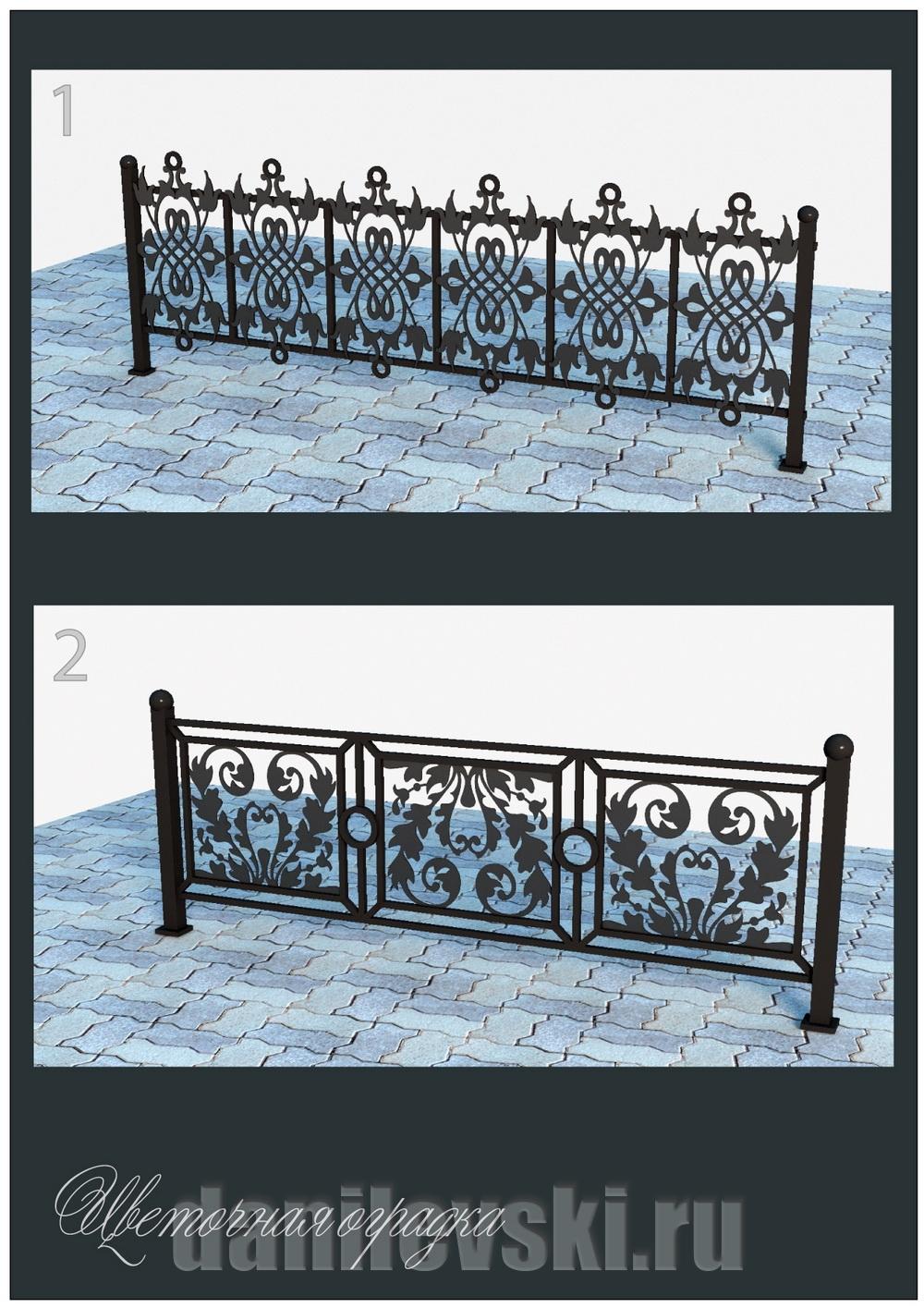 Кованая ограда 35