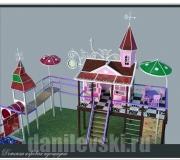 Детский городок из металлоконструкций 4