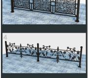 Кованая ограда 34