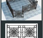 Кованая ограда 31