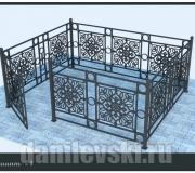 Кованая ограда 30
