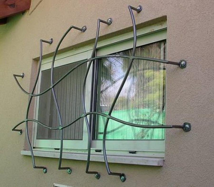 Эскиз кованой решетки-1