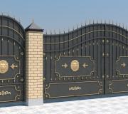 Эскиз - Кованые ворота