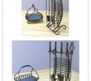 Визуализация - кованый набор для камина - 1