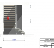 Лестница металлическая чертеж - 3