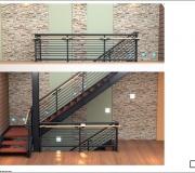 Лестница металлическая визуализация - 3